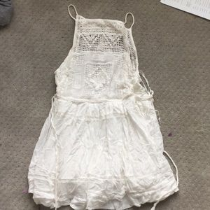 Free People Embroidered Tank Top sz. XS